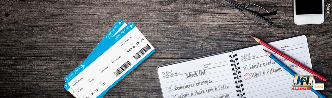 Check list: confira as dicas de segurança para viajar numa boa