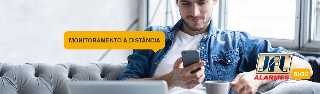 Monitoramento a distância via celular e outras tecnologias