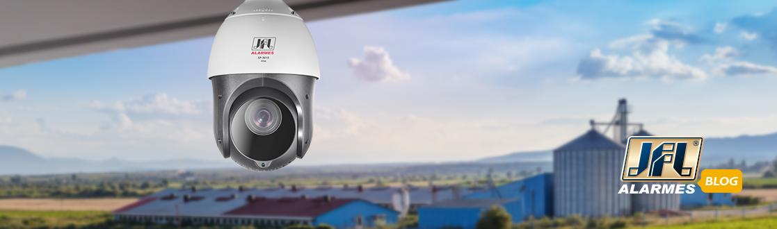 Câmera Speed Dome: um olhar além do alcance