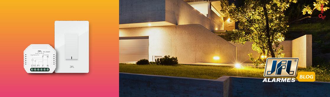 Iluminação residencial automatizada e inteligente